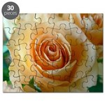 Apricot Colored Rose Puzzle