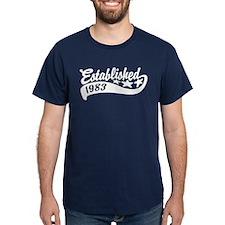 Established 1983 T-Shirt