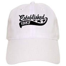Established 1983 Baseball Cap