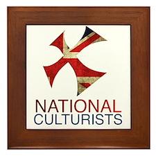 National Culturists Logo Framed Tile