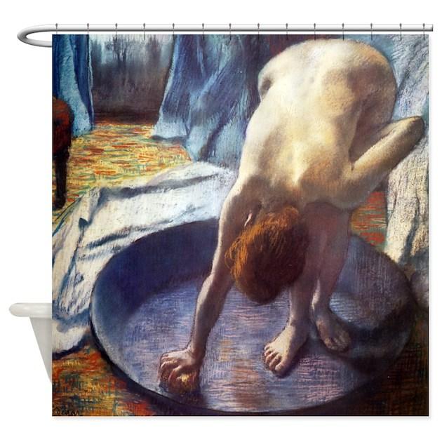 Edgar Degas The Tub Shower Curtain By Iloveyou1