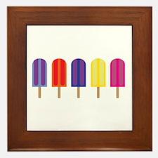 Popsicles! Framed Tile