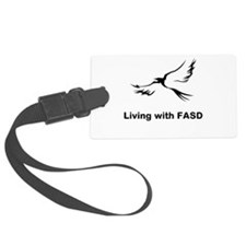 LIVING with FASD Luggage Tag