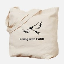 LIVING with FASD Tote Bag