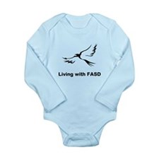 LIVING with FASD Long Sleeve Infant Bodysuit