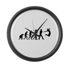 Evolution of Freedom Large Wall Clock