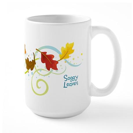 Soggy Leaves Large Mug