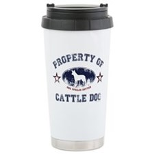 Cattle Dog Travel Mug
