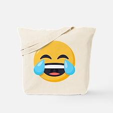 Crying Laughing Emoji Tote Bag