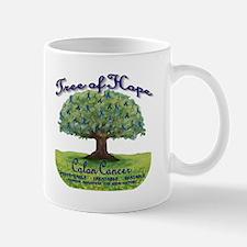 Colon Cancer Tree of Hope Mugs