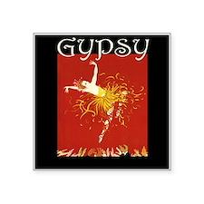 "Gypsy Square Sticker 3"" x 3"""
