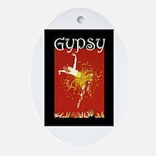 Gypsy Ornament (Oval)