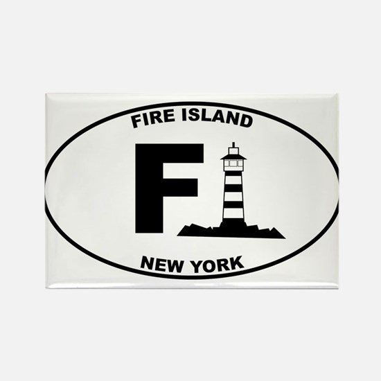 Fire Island Lighthouse Rectangle Magnet