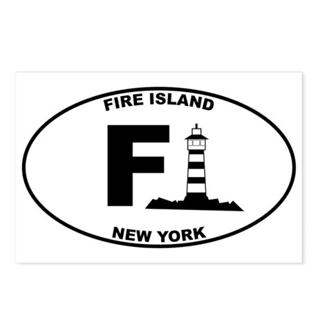 Fire Island Lighthouse Postcards (Package of 8)