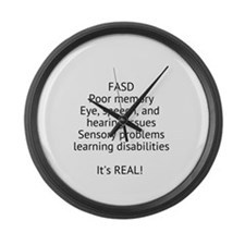 FASD Large Wall Clock
