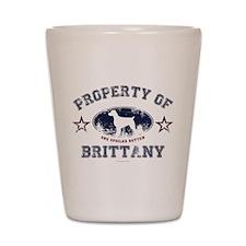 Brittany Shot Glass