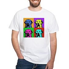 Andy Warhol Golden Retriever Shirt