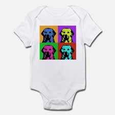 Andy Warhol Golden Retriever Infant Bodysuit