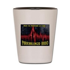 ParaChallenged Radio Swag Shot Glass