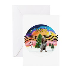 XMusic2-Spinone (roan) Greeting Cards (Pk of 10)
