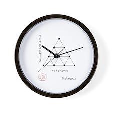 Tetraktis Wall Clock