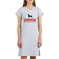 DOBERMAN THE VERY BEST Women's Nightshirt