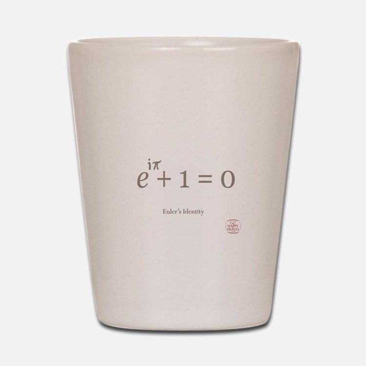 Eulers Identity Shot Glass