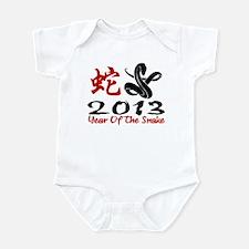 Year of The Snake 2013 Infant Bodysuit