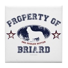 Briard Tile Coaster