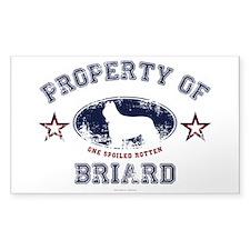 Briard Decal