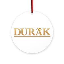 Durak Logo Ornament (Round)