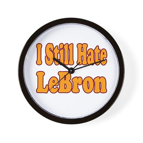 I Still Hate LeBron Wall Clock