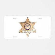 Maricopa County Sheriff Aluminum License Plate