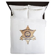 Maricopa County Sheriff Queen Duvet