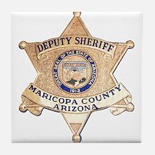 Maricopa County Sheriff Tile Coaster