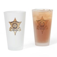 Maricopa County Sheriff Drinking Glass