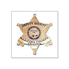 "Maricopa County Sheriff Square Sticker 3"" x 3"""