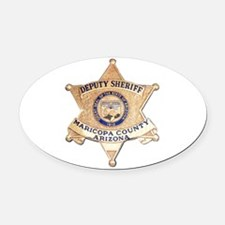 Maricopa County Sheriff Oval Car Magnet