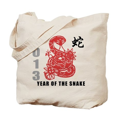 2013 Chinese New Year of The Snake Tote Bag
