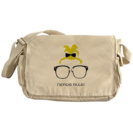 Nerds Rule! Girls Messenger Bag
