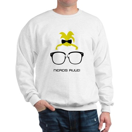 Nerds Rule! Girls Sweatshirt