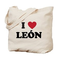 I Love Leon Tote Bag