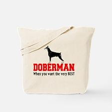 DOBERMAN THE VERY BEST Tote Bag