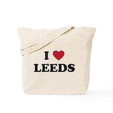 I Love Leeds Tote Bag