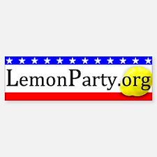 LemonParty.org Basic Bumper Bumper Sticker