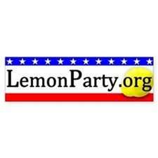 LemonParty.org Basic Bumper Sticker