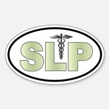 SLP Neutrals Oval Decal