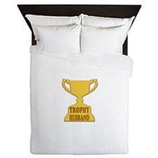 Trophy Husband Queen Duvet
