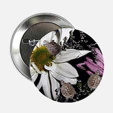 Terrapins & Flowers Button