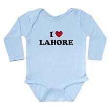 I Love Lahore Long Sleeve Infant Bodysuit